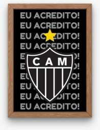 Quadro Decorativo Clube Atlético Mineiro