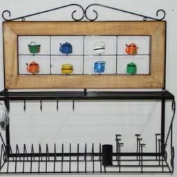 Paneleiro 80 cm rustico para decoração e cozinha