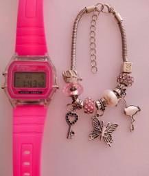 Relógio Vintage Colors