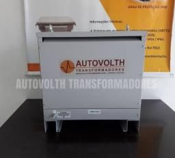 Autotransformador 25kVA trifásico 220v p/ 380v + N IP21