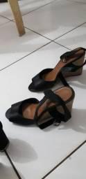 Calçados tamanho 37 valor 10, 5 e 3 reias