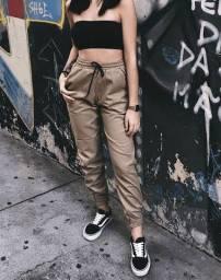 Calças jogger feminina