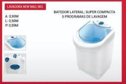 Lavadora New Maq capacidade 3KG PROMOÇÃO