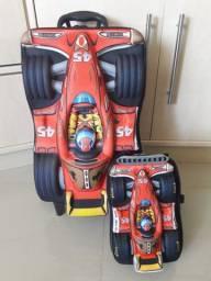 KIT Mochila 3D + Lancheira 3D Fórmula 1