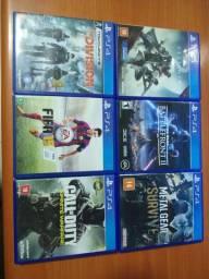 Pack de 6 Jogos PS4