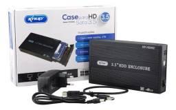 Case Hd 3,5 Sata Pc Desktop Usb 2.0 Uso Externo Kp-hd002 - Imperium Informatica