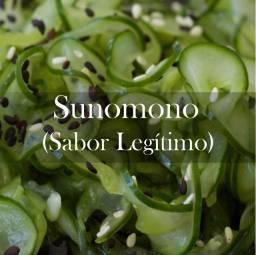 Pepino Japonês Sunomono Altissima qualidade