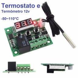 Termostato Digital Programável W1209- 12v