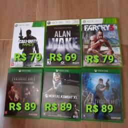 Jogos Xbox One e 360 Aceito Cartao e PiX