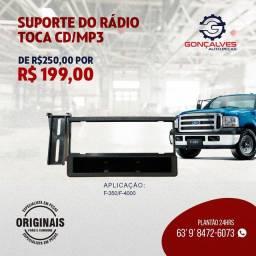 SUPORTE DO RÁDIO TOCA CD/MP3