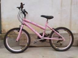 Bicicleta de criança com 6 marchas