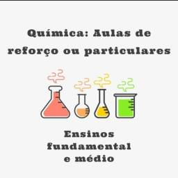 Título do anúncio: Aulas de química