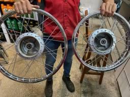 rodas da pop 100 / 110 novas originais sem uso