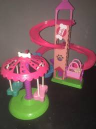 Parque dos cachorrinhos da Barbie
