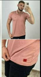Camisas gola careca