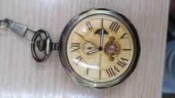 Título do anúncio: Relógio de bolso mecânico à corda e à quartzo