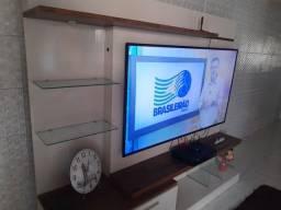 Título do anúncio: Vendo TV smat Samsung 65 + painel estante