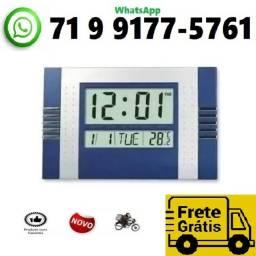 Título do anúncio: Relógio de Mesa Parede Digital Temperatura Alarme Calendário L7 (NOVO)