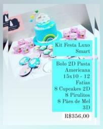 Kit Festa Luxo - Escolha seu Pacote Smart, Standard ou Premium - Compre e Receba em Casa