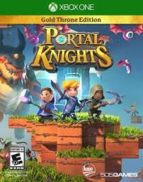 Jogo Portal Knights Gold Throne Editions - Xbox One - Mídia Física - Novo Lacrado