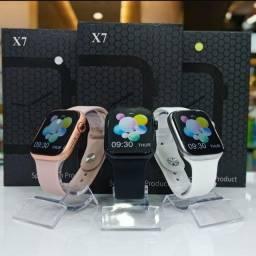 Título do anúncio: Relógio Smartwatch X7 Bluetooth Troca Pulseira