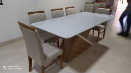 Título do anúncio: Mesa de jantar de 8 lugares nova completa pronta entrega
