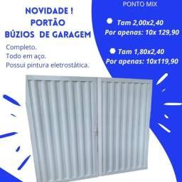 Título do anúncio:  PROMOÇÃO PORTÃO DE GARAGEM COMPLETO