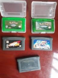Título do anúncio: Todos - Pokémon Leaf Green e Emerald, Super Mario, Mario Kart, e Futebol