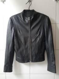 Jaqueta de napa italiana usada marca Lita Mortari