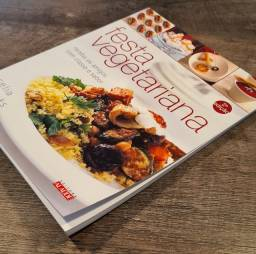 Livro Festa vegetariana - Celia Brooks Brown