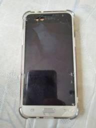 Título do anúncio: Samsung j 3 visor quebrado para retirada de peças.