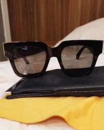 Título do anúncio: Óculos de sol Celine ORIGINAL Marrom