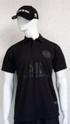 Camiseta polo PSG Black edition