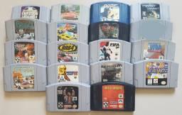 Jogos e acessórios de Nintendo 64