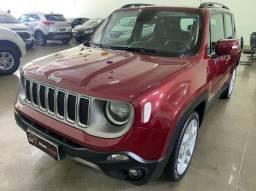 Jeep Renegade Limited 1.8 Flex Ano 2019 Aut.- Teto solar Panorâmico - Ipva Pago