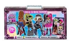 Título do anúncio: bonecas lol suprise omg remix 70 surpresas