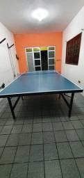 Título do anúncio: Mesa de ping pong nova medidas oficiais Aceito cartão
