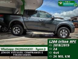 Título do anúncio: L200 TRITON HPE  2.4  2018/2019, apenas 24 mil km