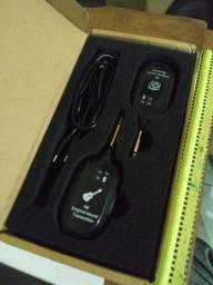 transmissor - recepetor wireless para guitarra A8