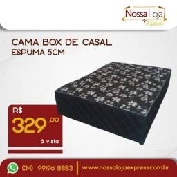 Título do anúncio: Cama box de Casal - entregas em Tupaciguara