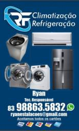 RF climatização e refrigeração