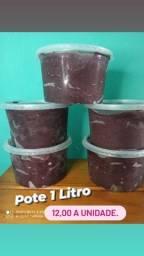 Pote de açaí 1 Litro Premium