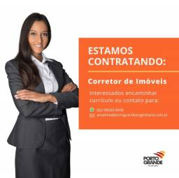 Título do anúncio: Contratamos consultores de vendas e corretores de imóveis