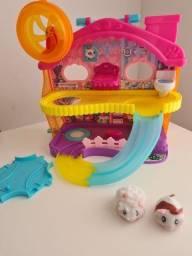 Mansão Hamster com figura Hamster In a House