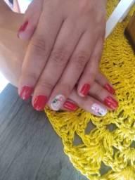 Título do anúncio: Manicure/ pé  dicure / Faço  sambraselha