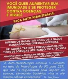 Título do anúncio: Autohemoterapia e serviços de enfermagem à domicílio
