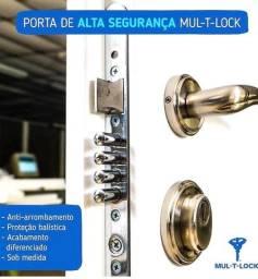 Título do anúncio: Porta Blindada MultLock usada