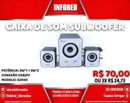 Título do anúncio: Caixa de Som Subwoofer S2400 - R$70,00