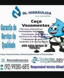 Título do anúncio: Caça vazamento e encanador hidráulico