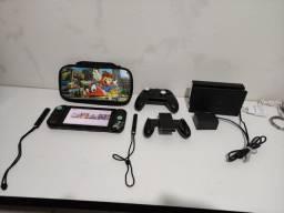 Nintendo switch desbloqueado com 128gb classe 10 Vendo ou troco